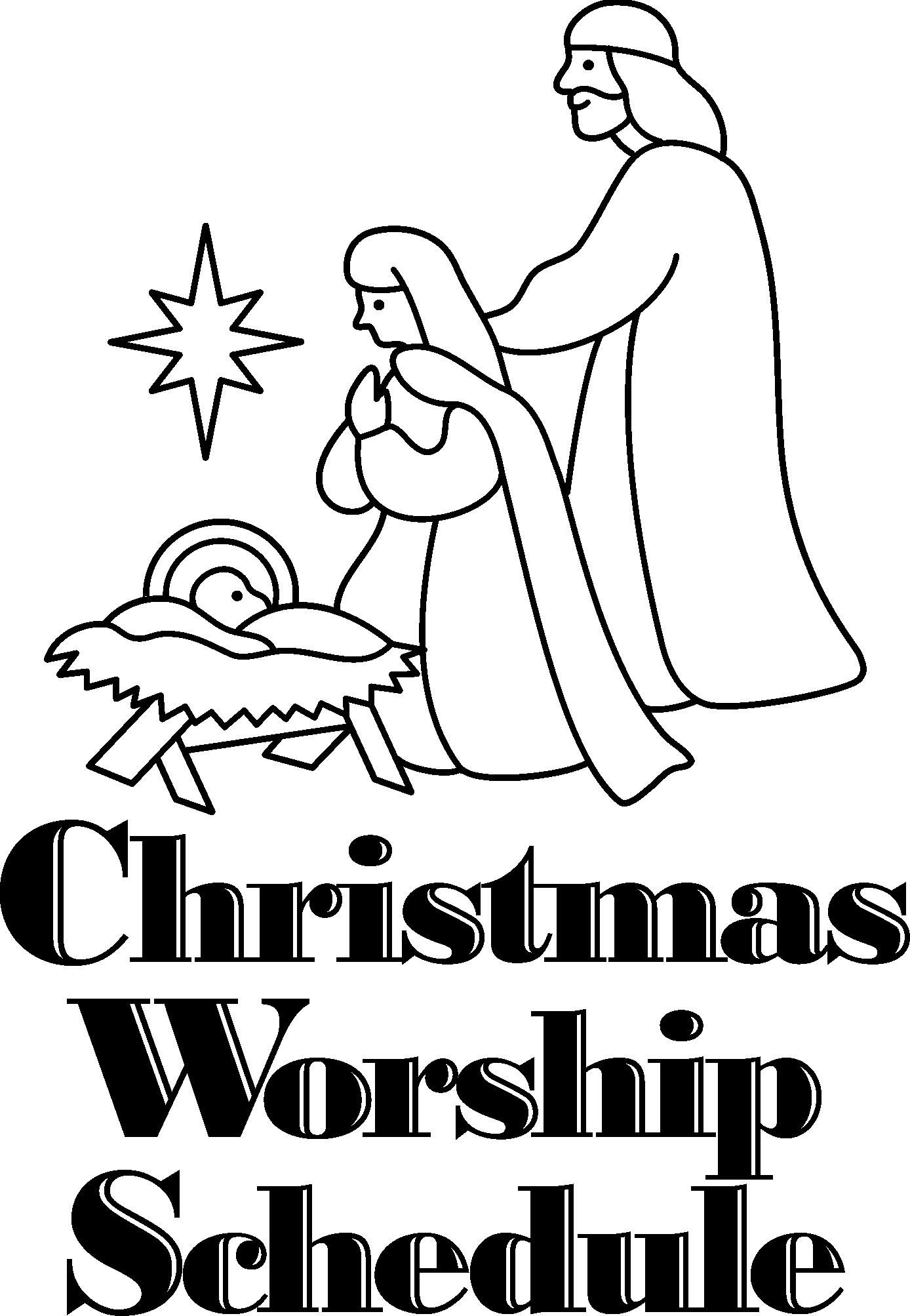 christmas-worship-schedule